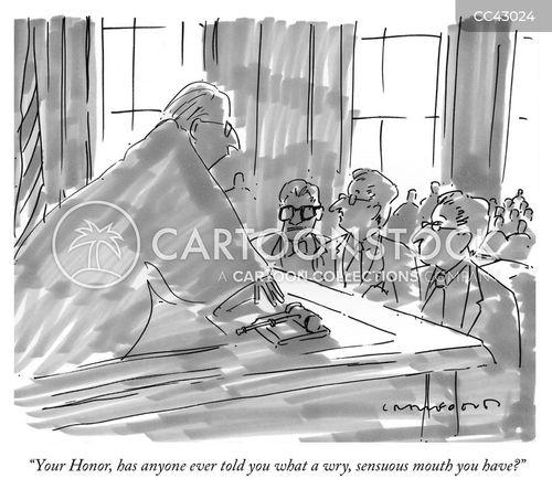 flattering cartoon