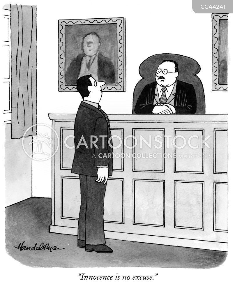 legal principle cartoon