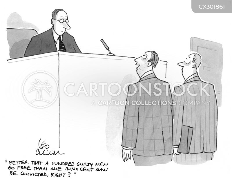 conviction cartoon