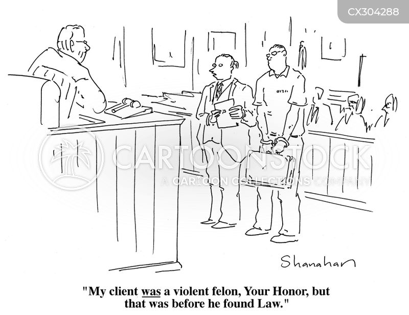 felons cartoon