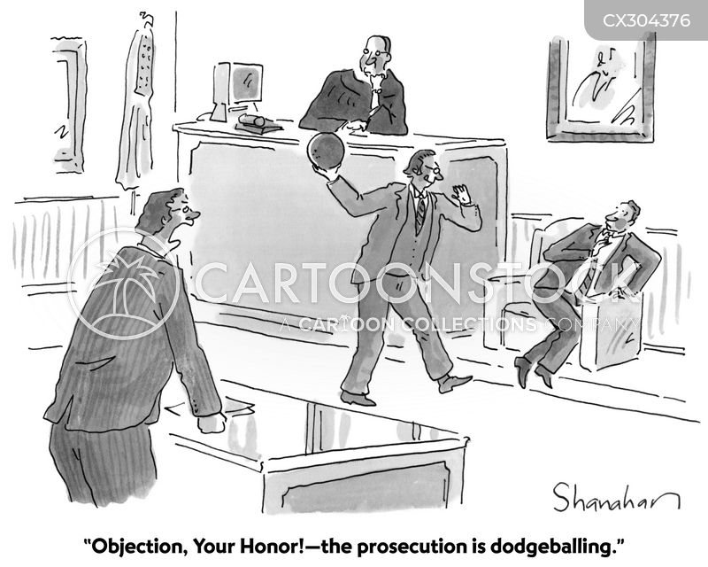 objecting cartoon