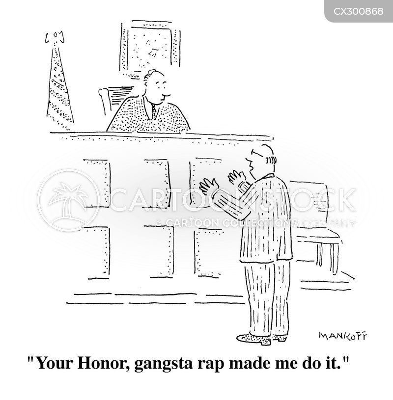 rap music cartoon