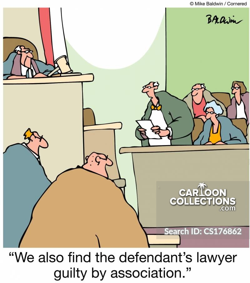 guilty by association cartoon