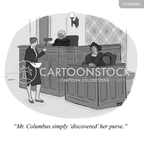 found cartoon