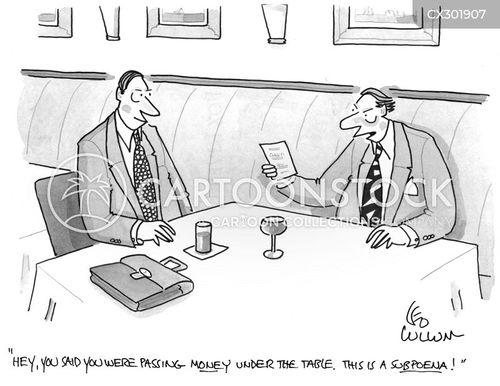 subpoena cartoon