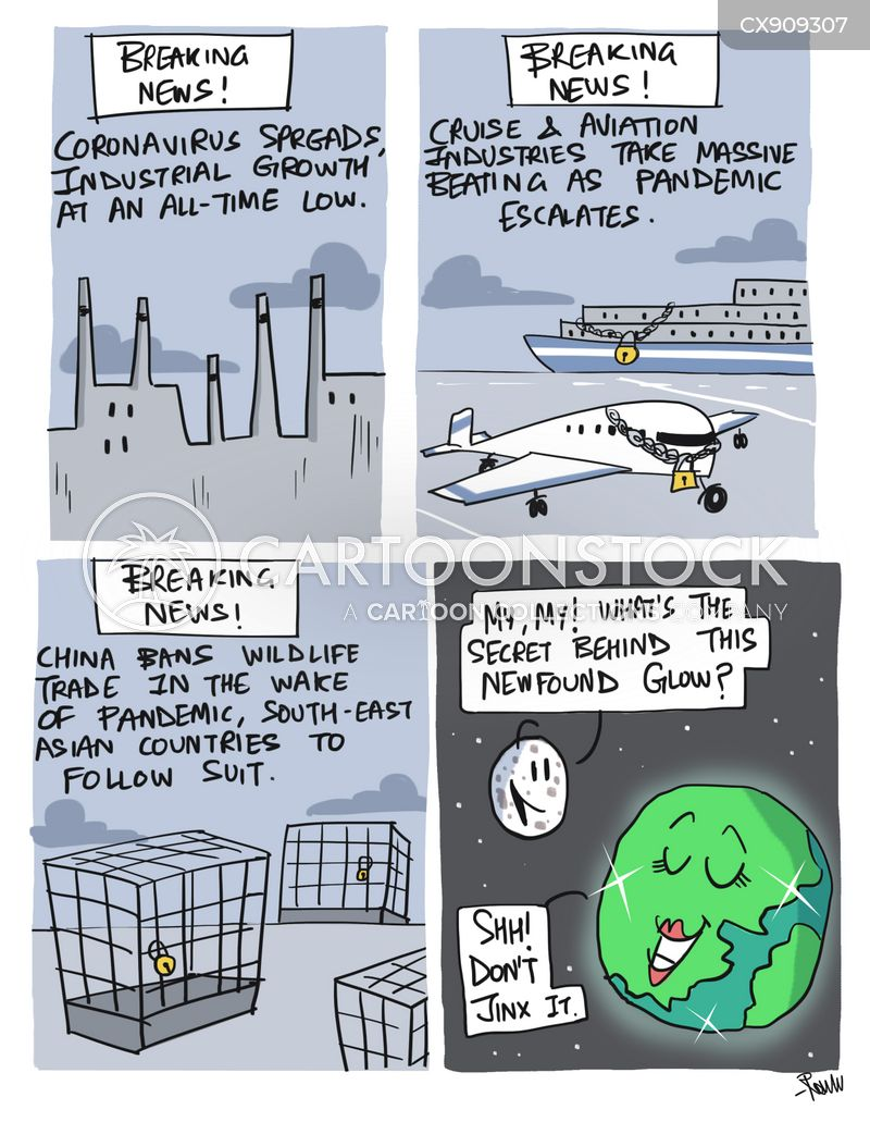 pollutant cartoon