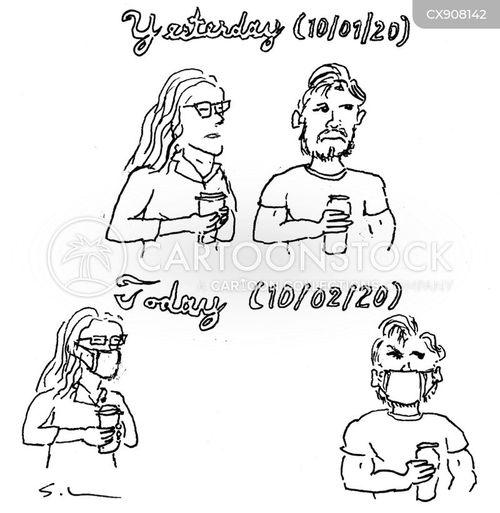 following cartoon
