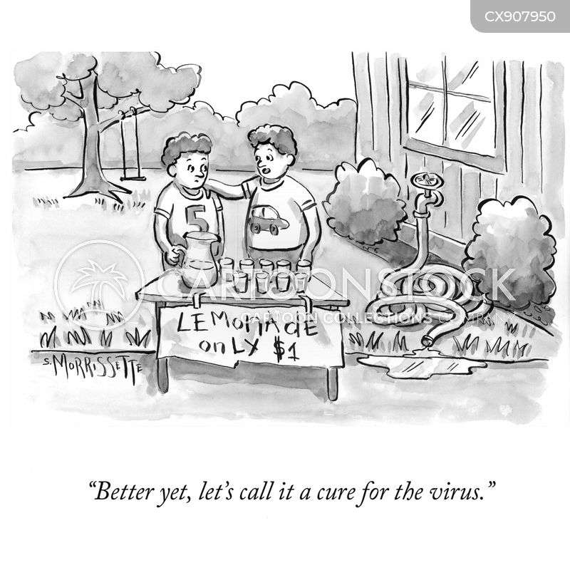 raise money cartoon