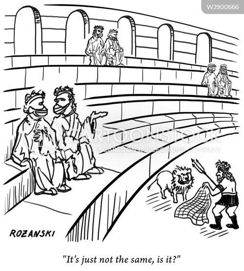 ancient romans cartoon