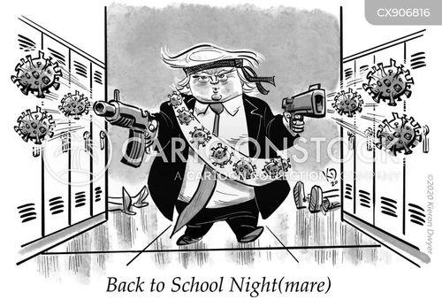 endangering cartoon
