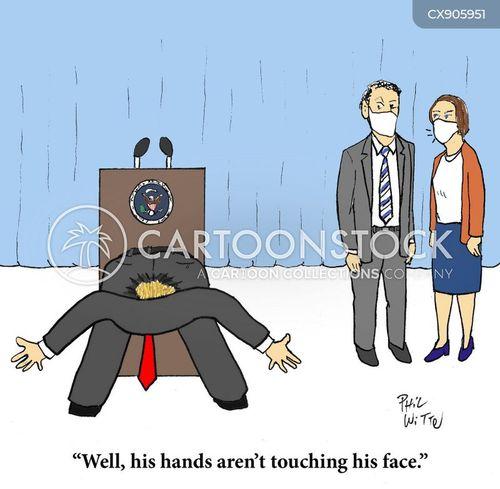 covid-19 mismanagement cartoon