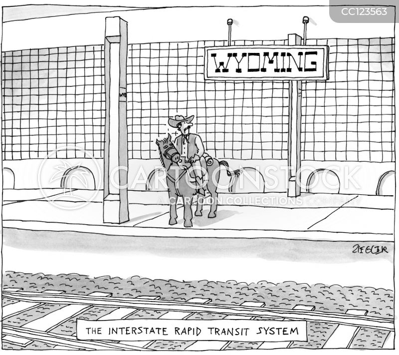 Wyoming cartoon