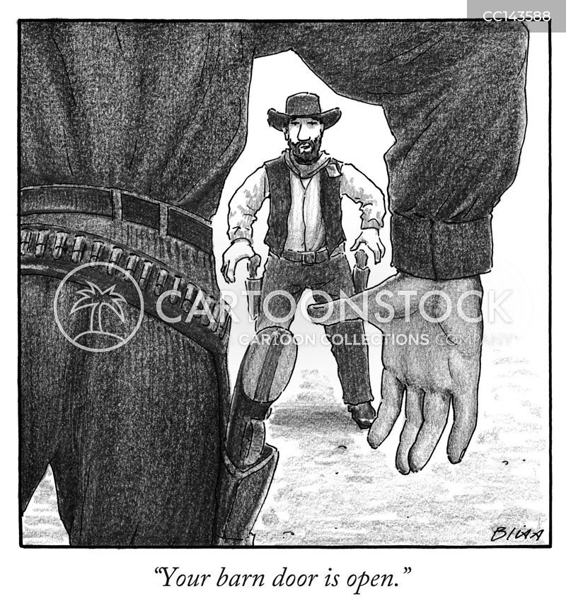 saloon cartoon