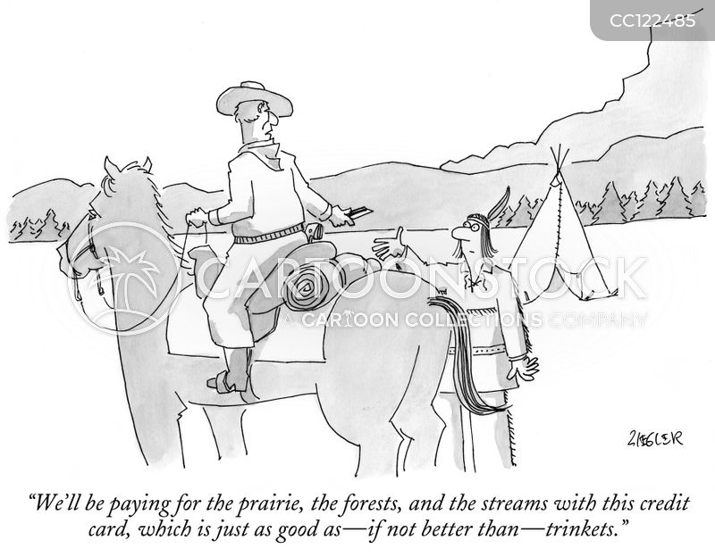 native american cartoon