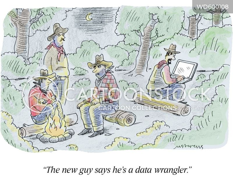 "<div style=""font-weight:normal;font-family:'Lato',Arial;"">""The new guy says he&#39;s a data wrangler.""</div><br/><a href='/cartoon?searchID=WD600108' class='wide' style='text-decoration:none;font-family:NexaBold,Arial,sans-serif;background:#076E3A;border:1px solid #076E3A;height:25px;width:60px;margin-bottom:10px;display:inline-block;text-align:center;vertical-align:middle;padding-top:7px;margin-bottom:-2px;color:white;'>INFO</a> <a href='/cartoon?searchID=WD600108' class='wide' style='text-decoration:none;font-family:NexaBold,Arial,sans-serif;background:#0072A9;border:1px solid #0072A9;height:25px;width:60px;margin-bottom:10px;display:inline-block;text-align:center;vertical-align:middle;padding-top:7px;margin-bottom:-2px;color:white;'>BUY</a>"