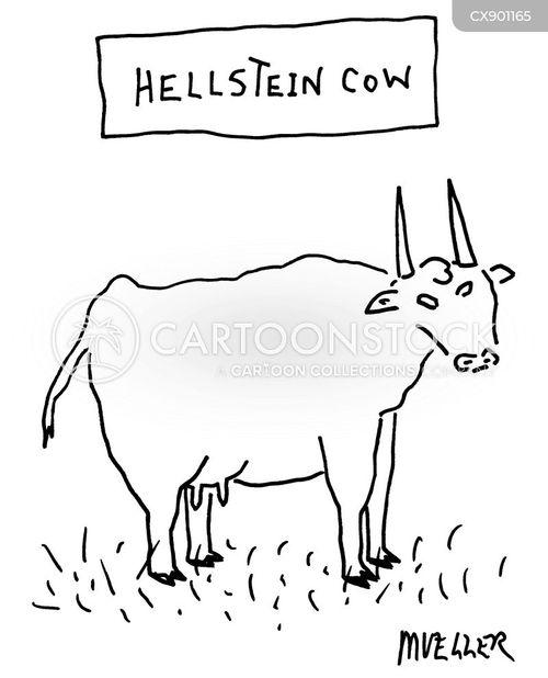 devilish cartoon