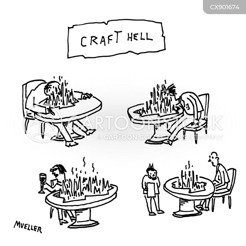 craft cartoon