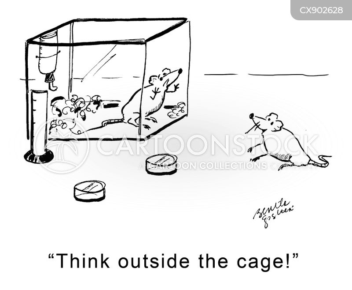 novel thinker cartoon