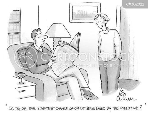 credit cartoon