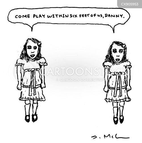 creepy children cartoon