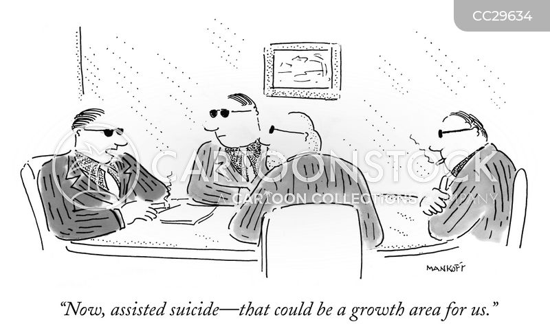 market growth cartoon