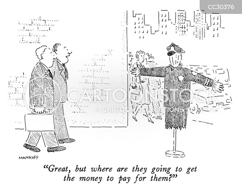 police budgets cartoon