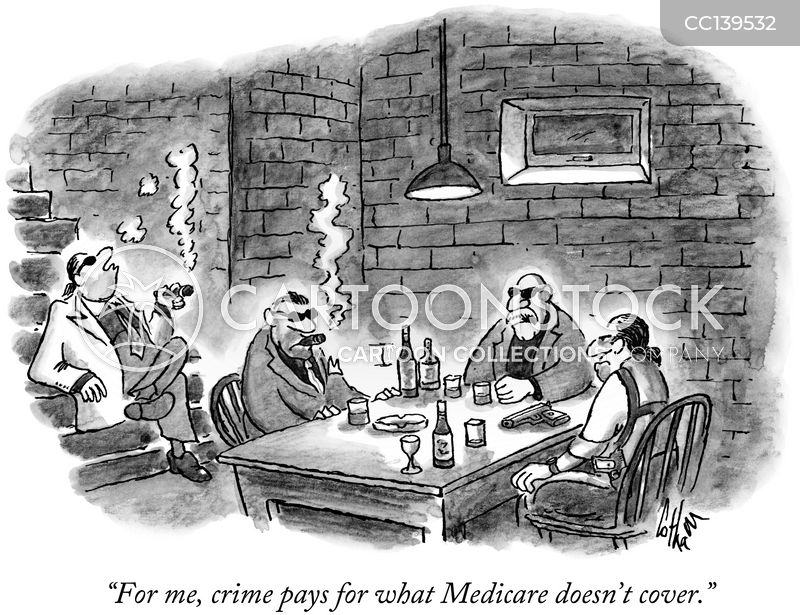 mafia members cartoon