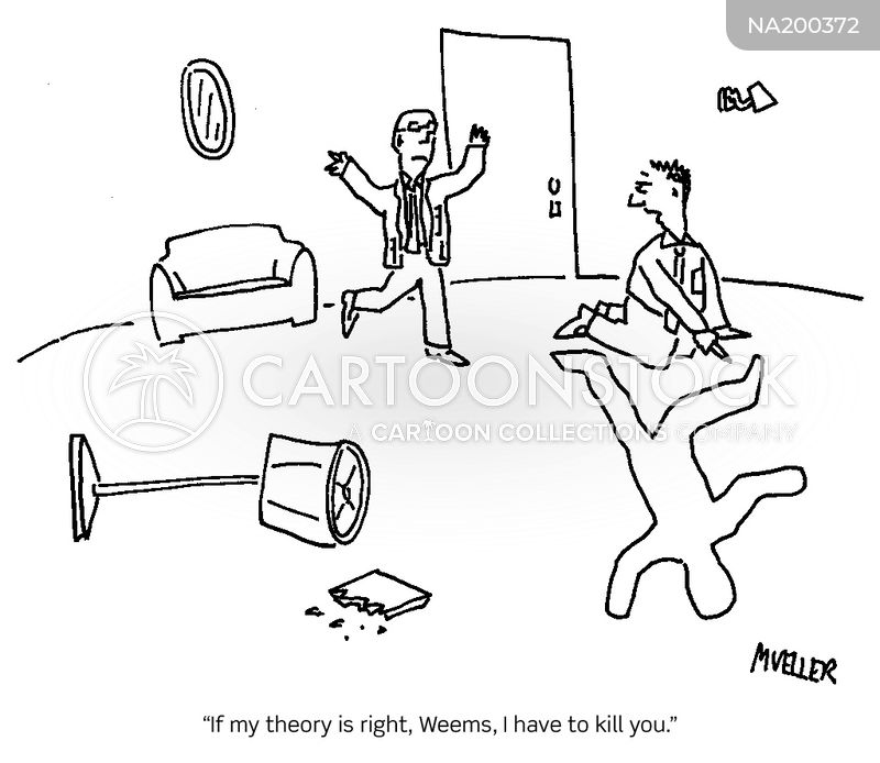 theories cartoon