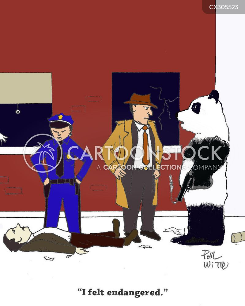 giant pandas cartoon