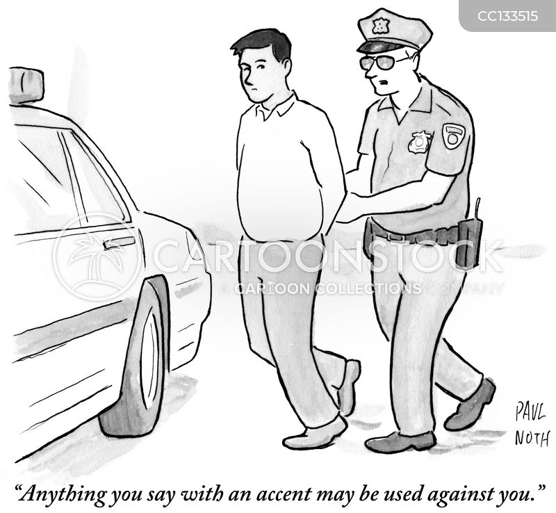 arrests cartoon