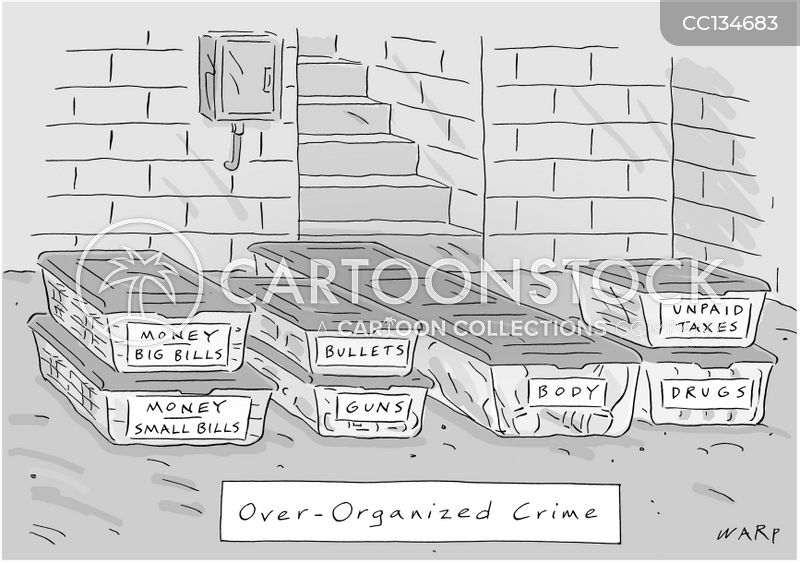 Drug Dealer cartoon