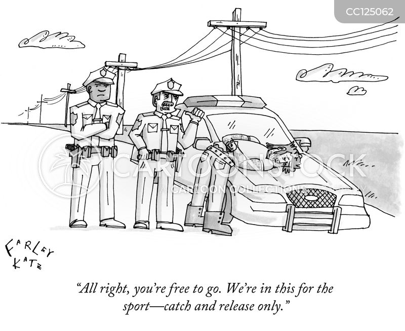policemen cartoon