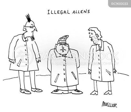 offender cartoon