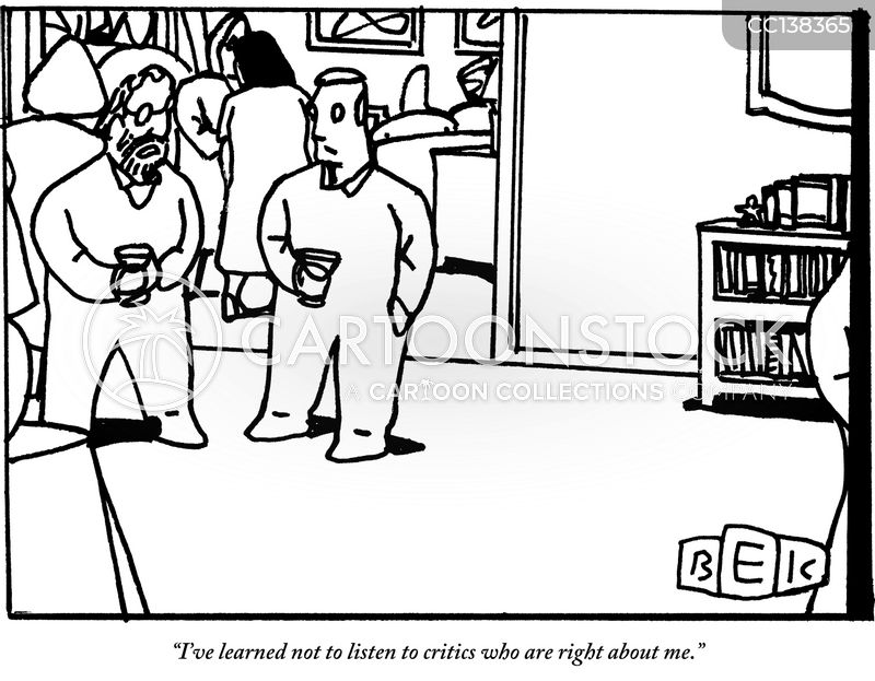 critic cartoon