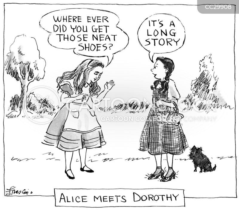 alice in wonderland cartoon