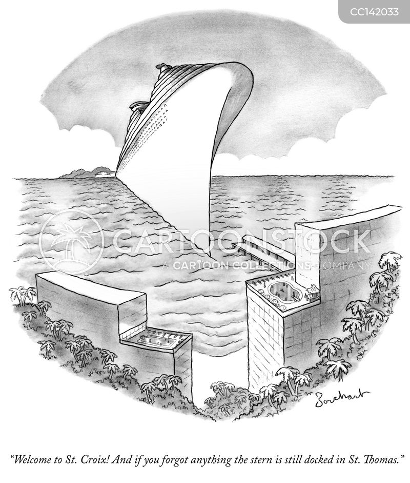 cruises cartoon