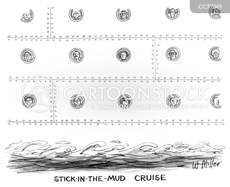 stick in the mud cartoon