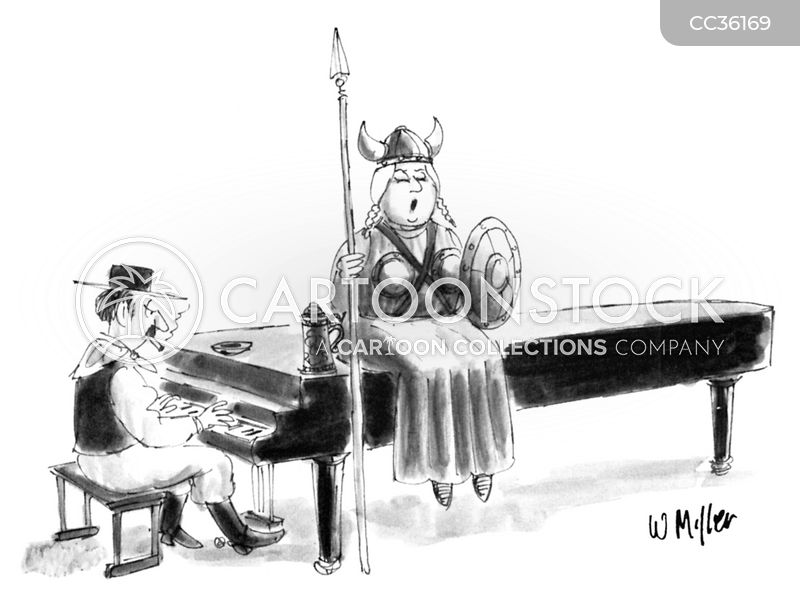 music cartoon