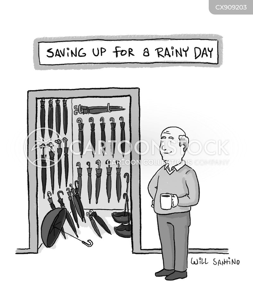 saving up cartoon