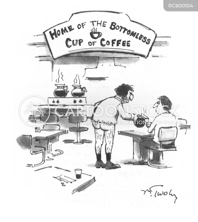 bottomless cups cartoon