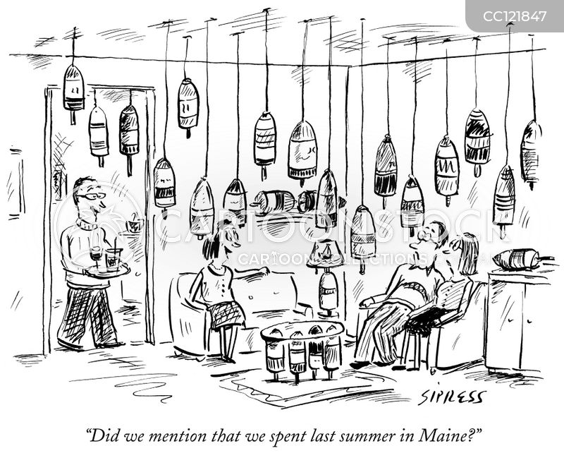 cocktail parties cartoon