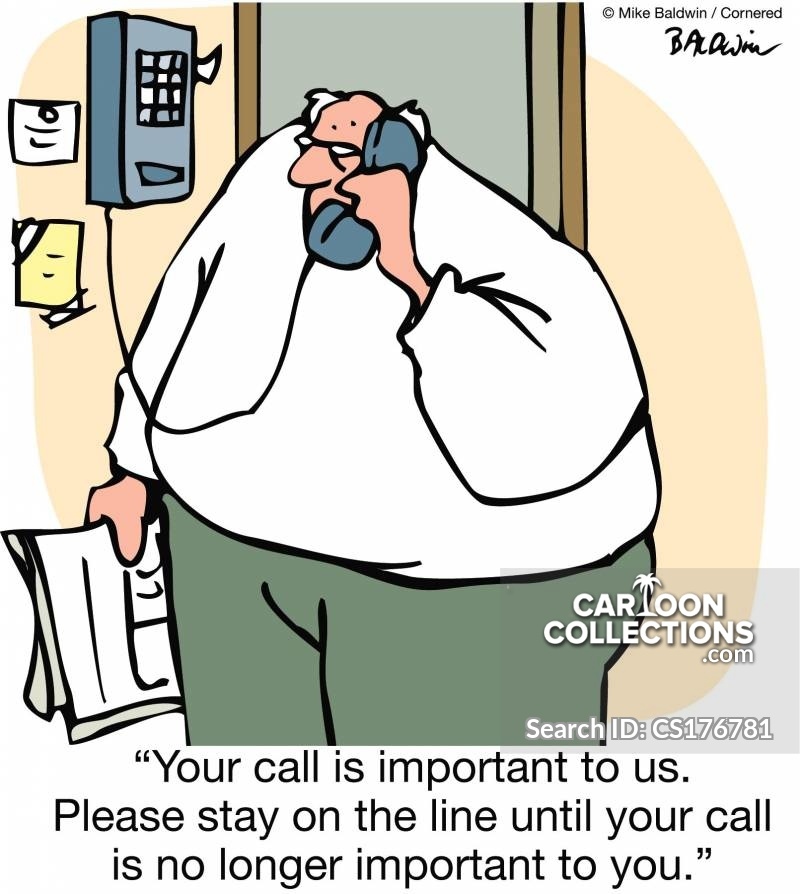 cartoons on the phone
