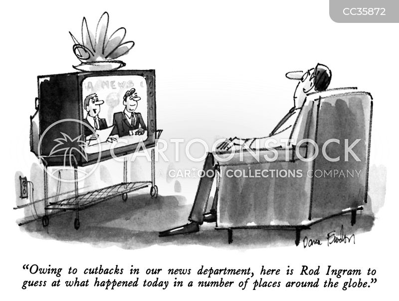 news program cartoon