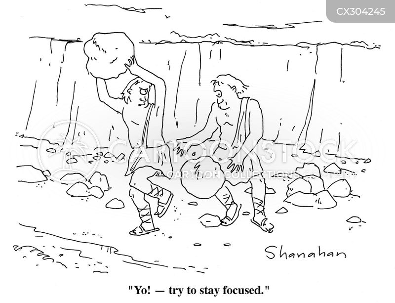 Boulders cartoon
