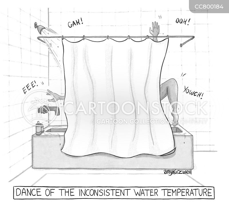 water heater cartoon