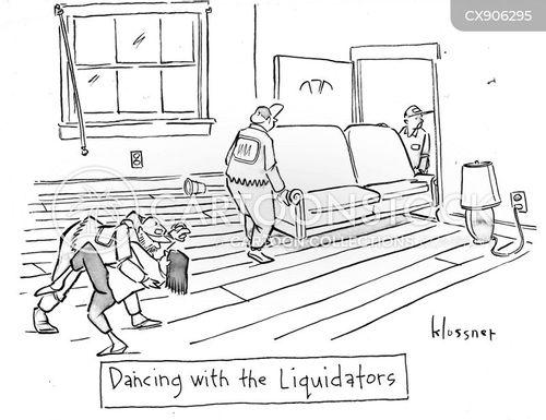 debtors cartoon