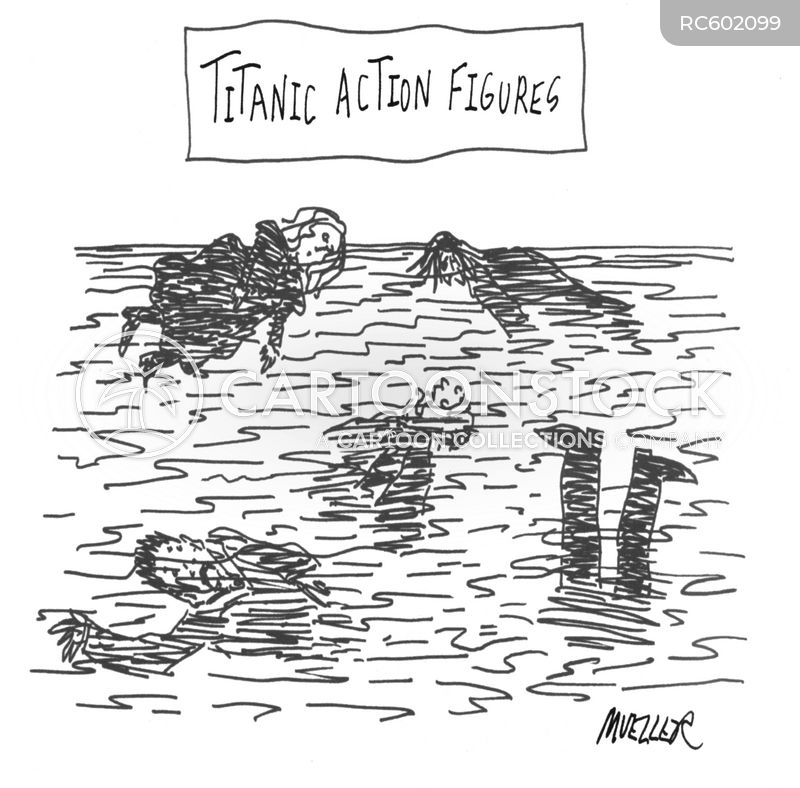 rms titanic cartoon