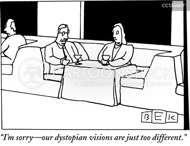 dystopia cartoon