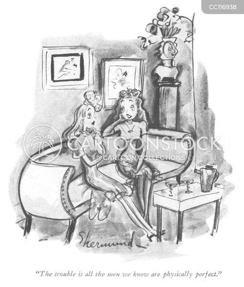 1940s men cartoon