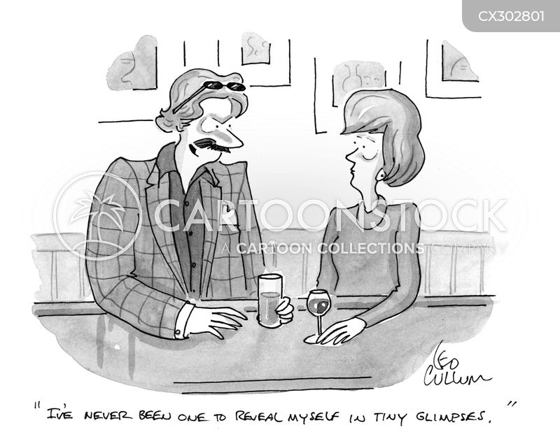 online dating cartoon